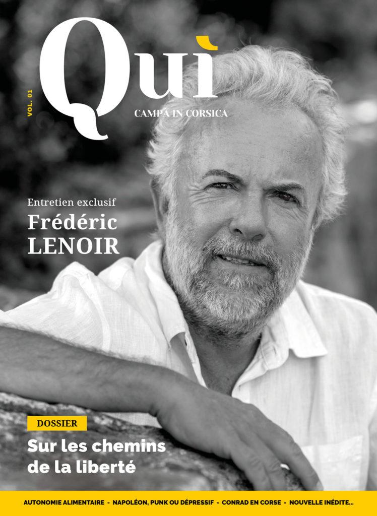 Couverture Quì Vol.1 - Frédéric Lenoir