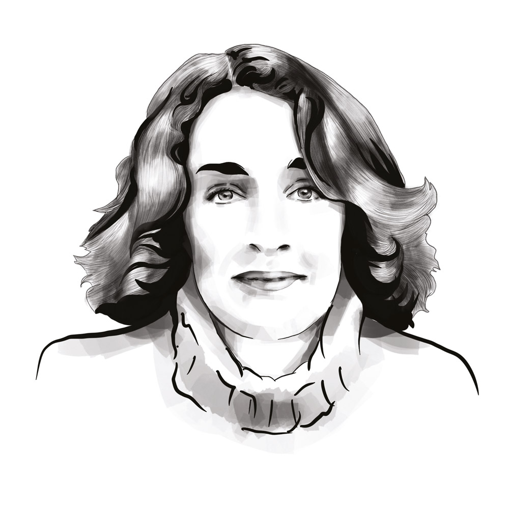 Carole Zalberg portrait