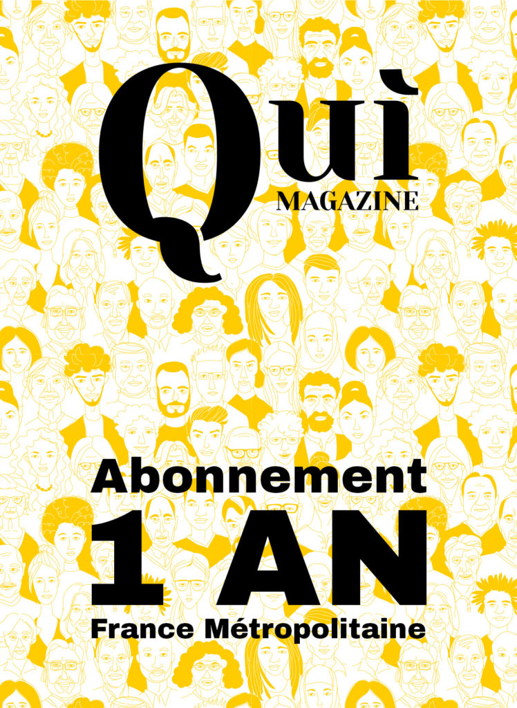 Quì magazine - Abonnement 1 an